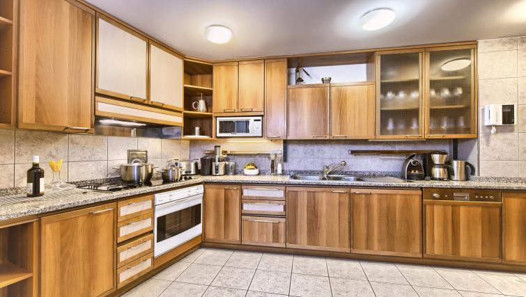 Spacious kitchen at Residence Brehova Apartments - Citybase Apartments