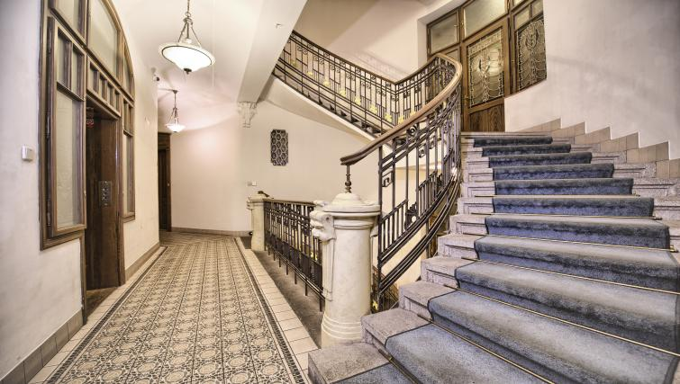 Stairway at Residence Brehova Apartments - Citybase Apartments