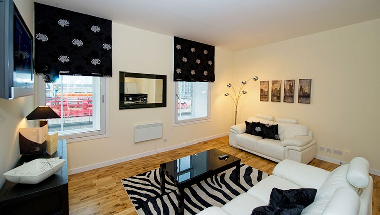 Excellent living area in Aberdeen Douglas Apartments - Citybase Apartments