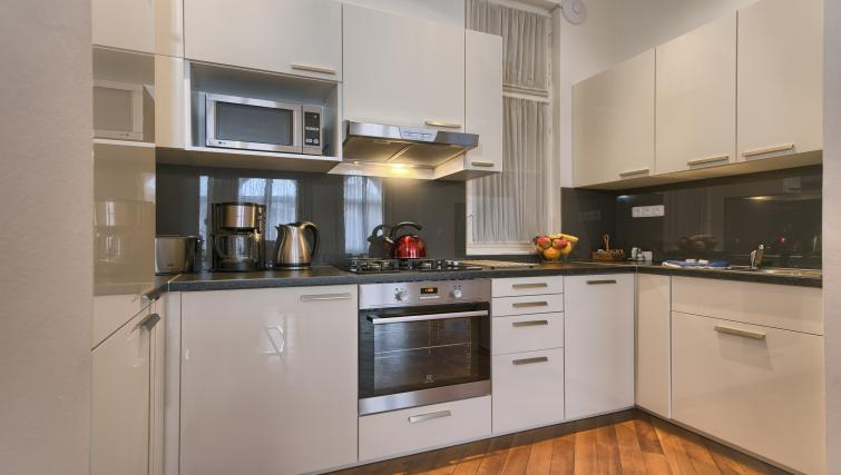 Kitchen at Residence Masna Apartments - Citybase Apartments