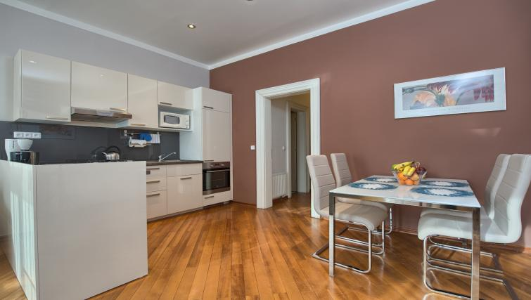 Equipped kitchen at Residence Masna Apartments - Citybase Apartments
