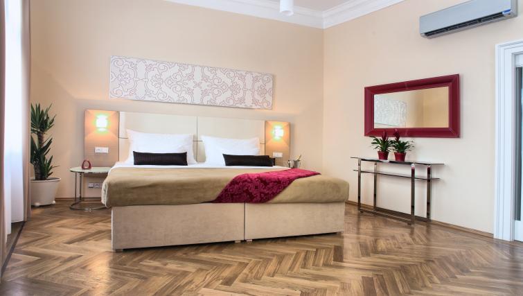 Bedroom at Residence Karolina Apartments - Citybase Apartments