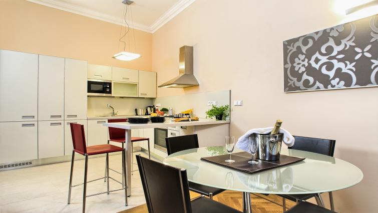 Equipped kitchen at Residence Karolina Apartments - Citybase Apartments