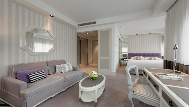 Spacious living area at Lanson Place Hotel and Apartments - Citybase Apartments