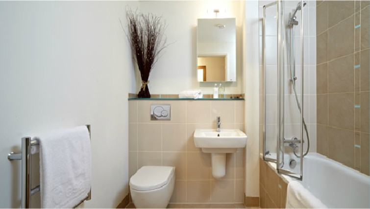 Memorable bathroom in The Crescent Apartments - Citybase Apartments