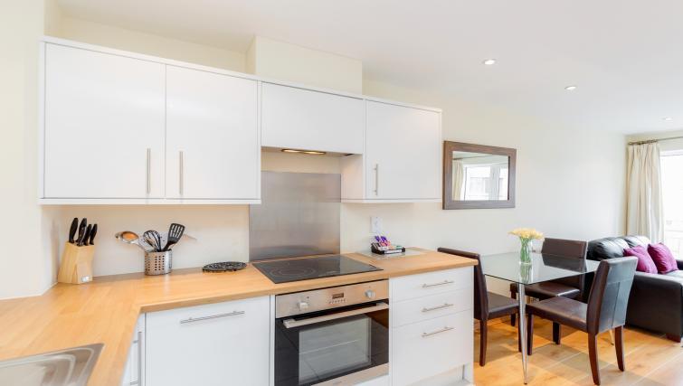 Kitchen at Westnye House Apartment - Citybase Apartments