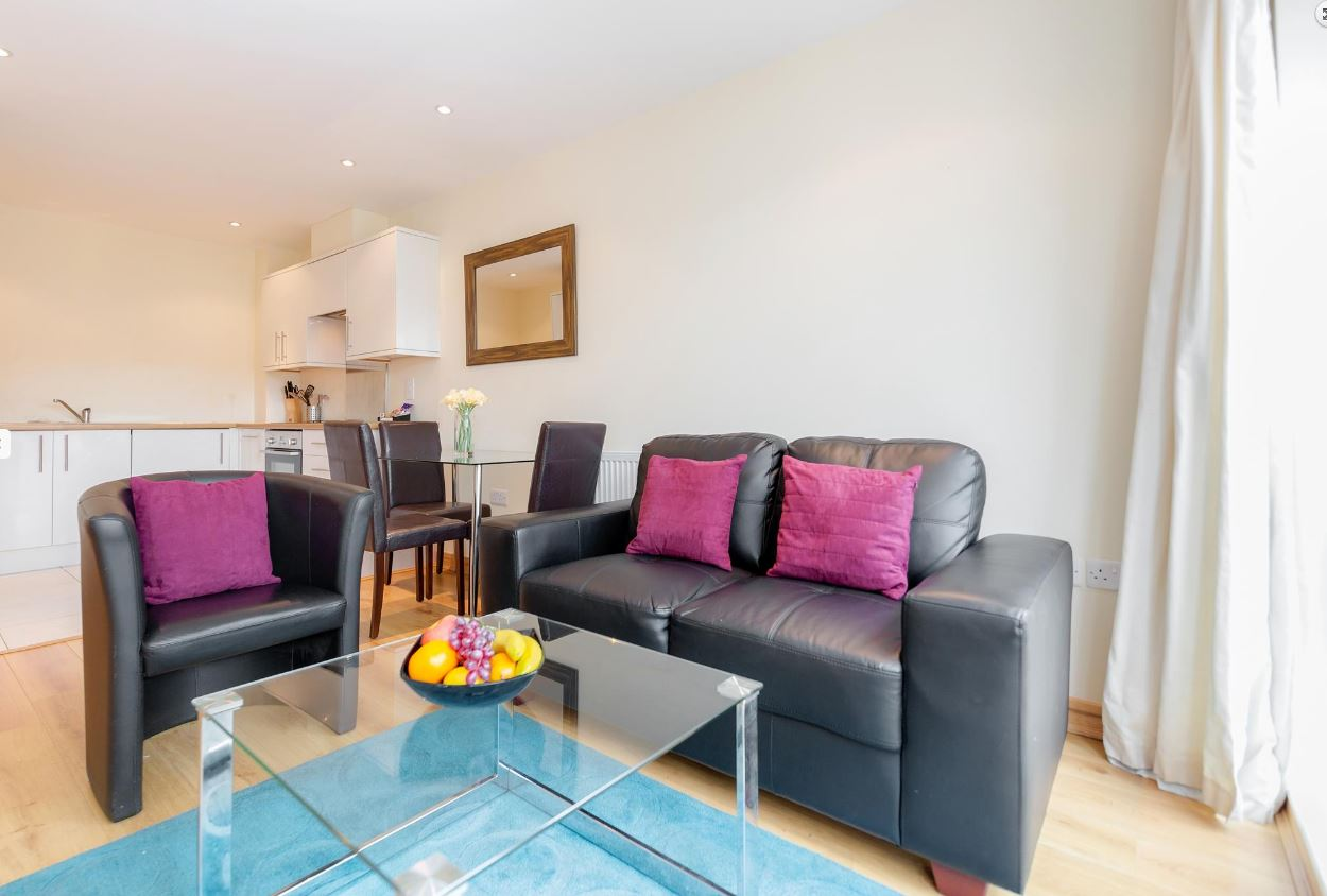 Coffee table at Westnye House Apartment, Centre, Guildford - Citybase Apartments