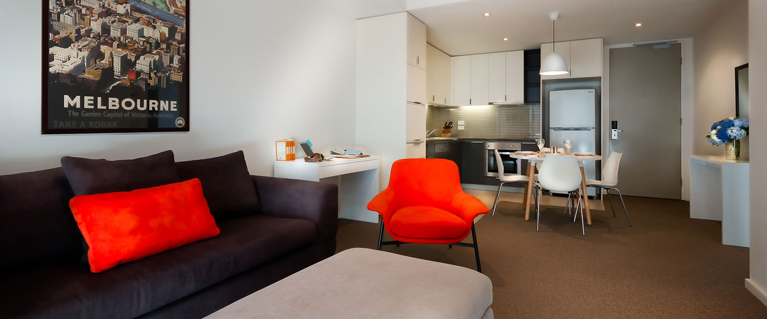 Kitchen at Caroline Serviced Apartments - Citybase Apartments