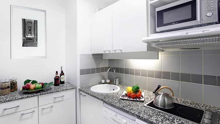 Kitchen in Citadines Lille Centre Apartments - Citybase Apartments