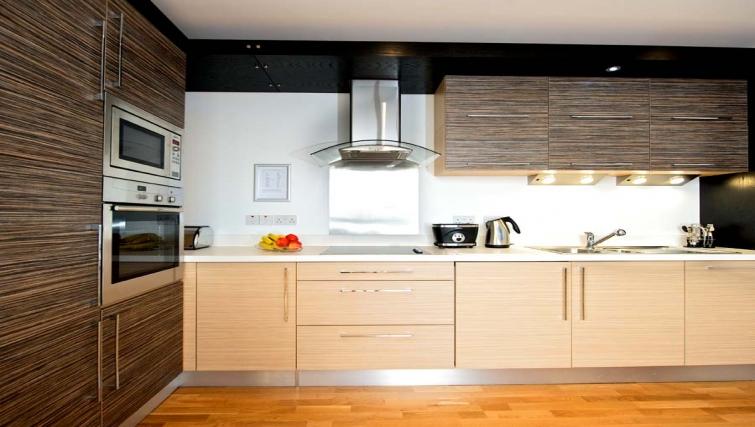 Beautiful kitchen in Staycity Edinburgh West End - Citybase Apartments