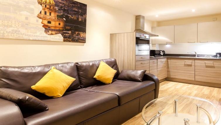 Stunning kitchen in Staycity Edinburgh West End - Citybase Apartments