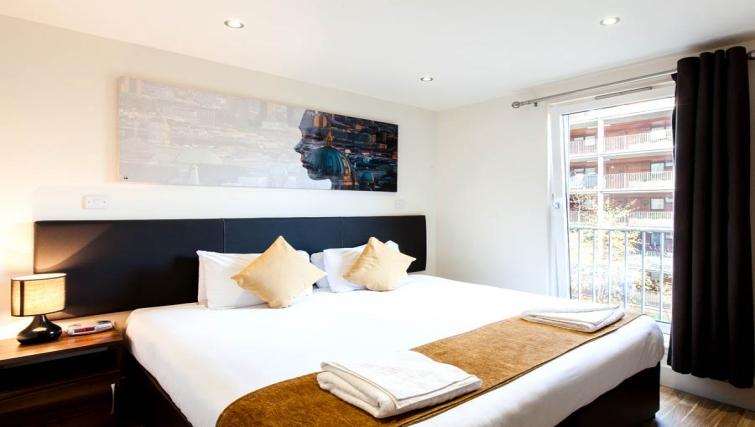 Incredible bedroom in Staycity Edinburgh West End - Citybase Apartments