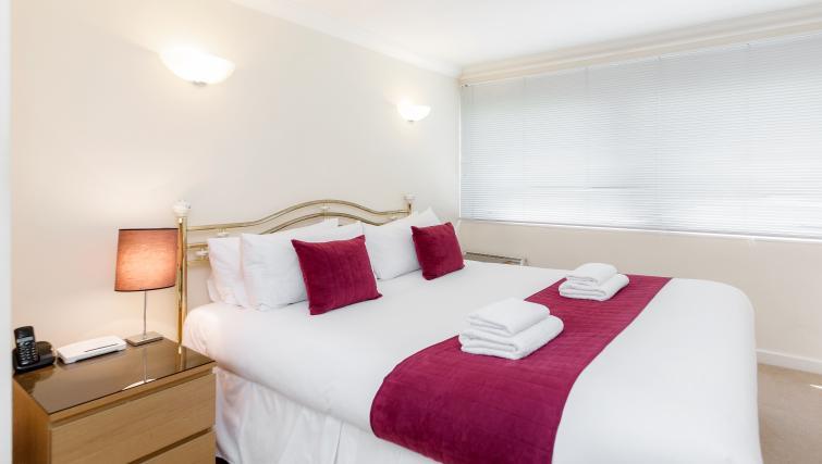 Bedroom at King Regents Fitzroy Apartments - Citybase Apartments