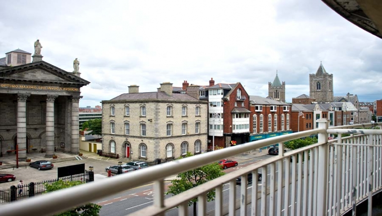 Incredible views from Staycity Dublin Christchurch - Citybase Apartments