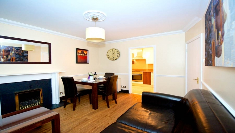 Multifunctional living area in Staycity Dublin Christchurch - Citybase Apartments