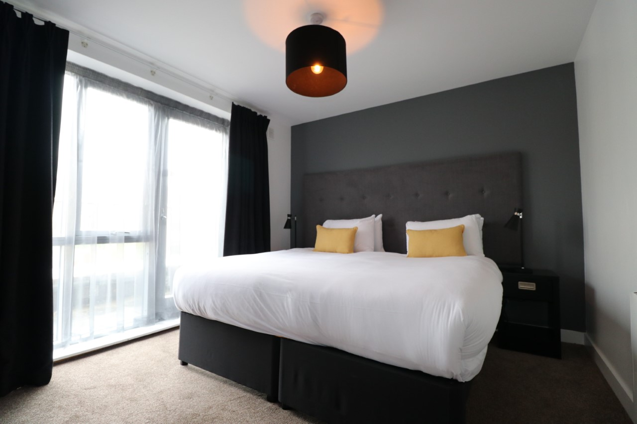 Bedroom at Staycity Dublin Christchurch, Centre, Dublin - Citybase Apartments