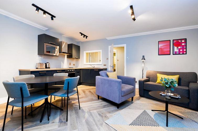 Open plan living at Staycity Dublin Christchurch, Centre, Dublin - Citybase Apartments