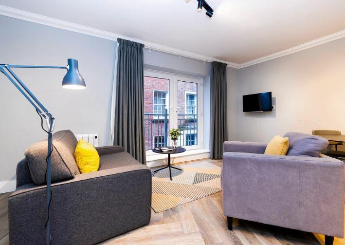 Sofa at Staycity Dublin Christchurch, Centre, Dublin - Citybase Apartments