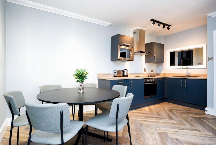 Dining at Staycity Dublin Christchurch, Centre, Dublin - Citybase Apartments