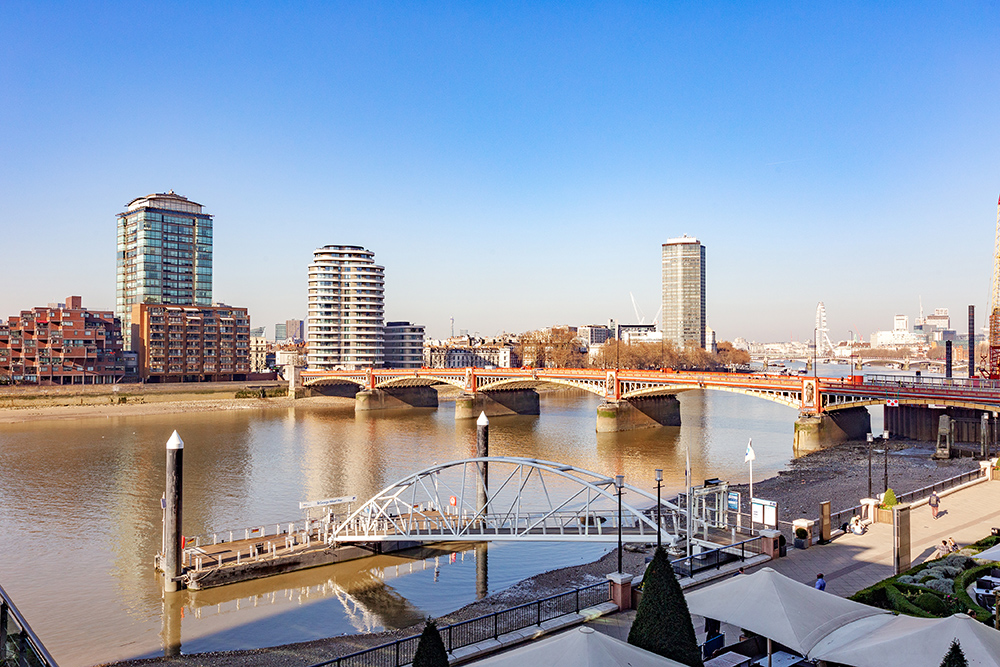 View at St George's Wharf Serviced Apartments - Citybase Apartments