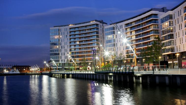 Water front at Titanic Arc Apartment - Citybase Apartments