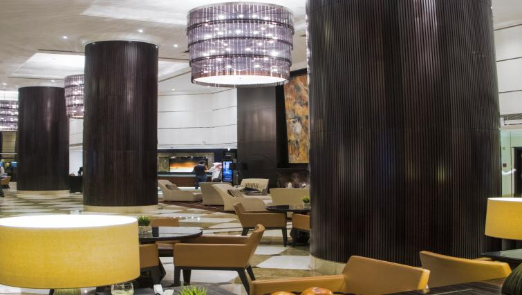 Lobby at Towers Rotana Apartments - Citybase Apartments