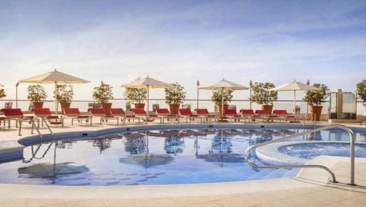 Pool at Towers Rotana Apartments - Citybase Apartments