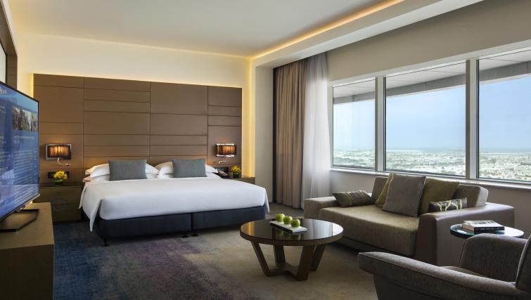 Bedroom at Towers Rotana Apartments - Citybase Apartments