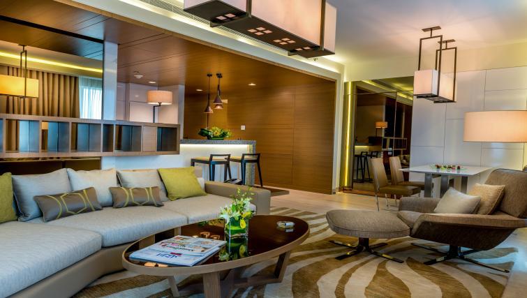 Sofa at Towers Rotana Apartments - Citybase Apartments