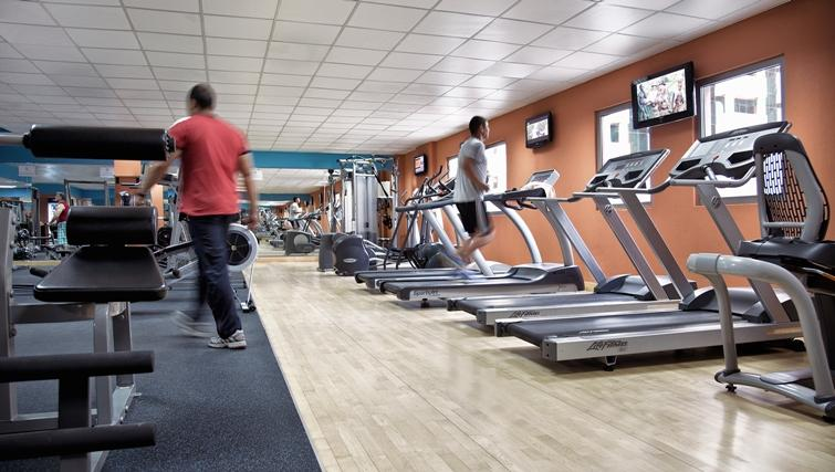 Gym at Rose Rayhaan Apartments - Citybase Apartments