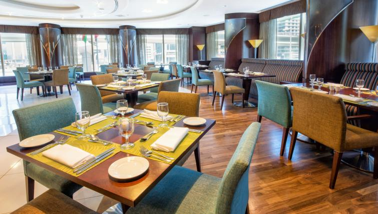 Restaurant at Rose Rayhaan Apartments - Citybase Apartments