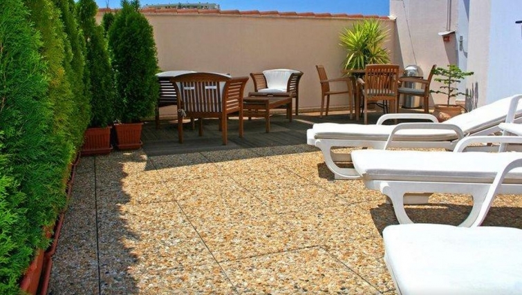 Balcony in Citadines Cannes Carnot Apartments - Citybase Apartments