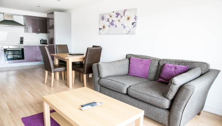 Dining area at The Atrium Apartments - Citybase Apartments