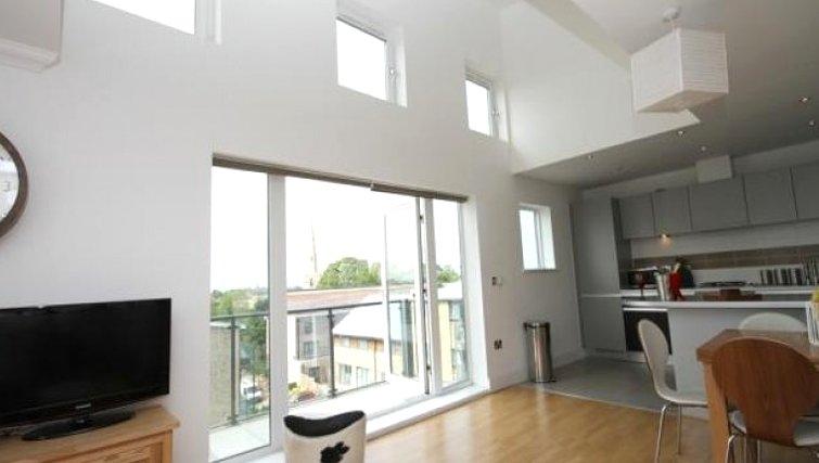 Executive living area in Scholars Walk Penthouse Apartment - Citybase Apartments