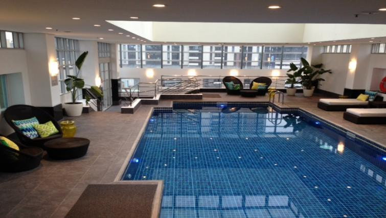 Pool at The Como Melbourne Apartments - Citybase Apartments