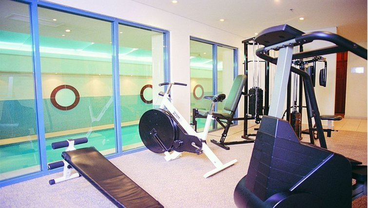 State of the art gym at Adina Apartment Hotel Coogee - Citybase Apartments
