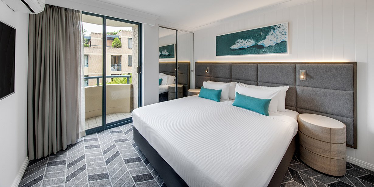 Premium bedroom at Adina Apartment Hotel Coogee - Citybase Apartments