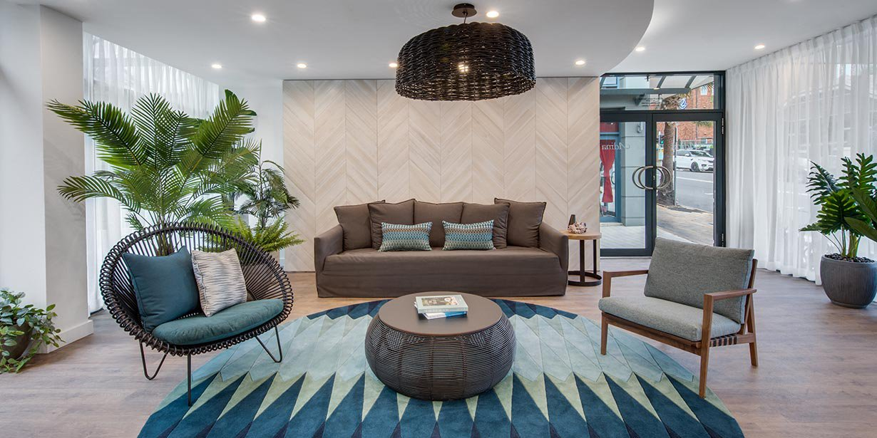 Reception area at Adina Apartment Hotel Coogee - Citybase Apartments