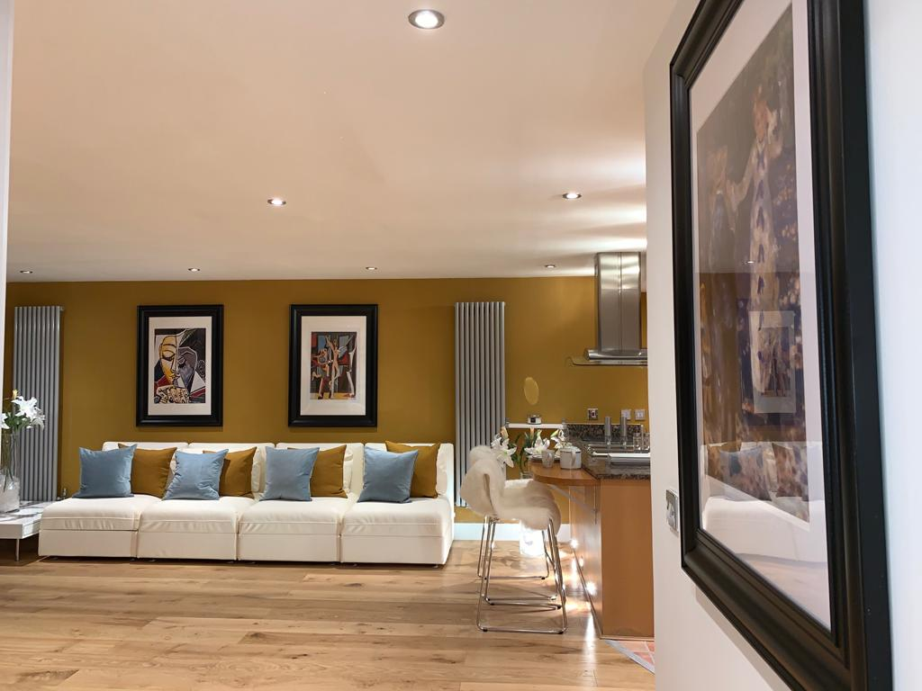 Decor of Millharbour Apartment, Canary Wharf, London - Citybase Apartments
