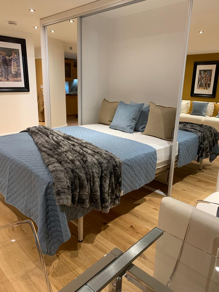 Extra bed at Millharbour Apartment, Canary Wharf, London - Citybase Apartments