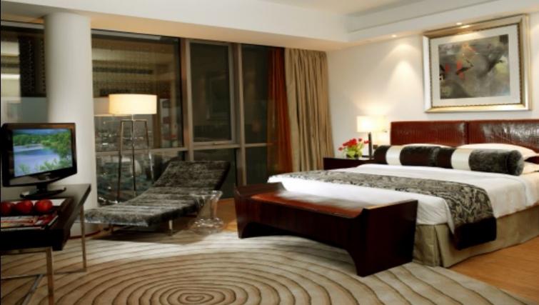 Stylish bedroom in BurJuman Arjaan Apartments - Citybase Apartments