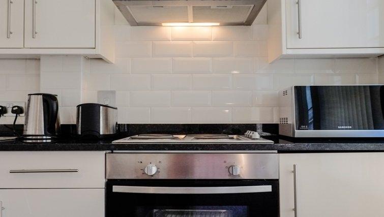 Stylish kitchen at Hanbury Street Apartments - Citybase Apartments