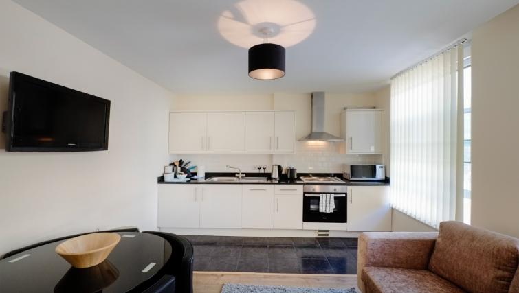 Kitchen in Hanbury Street Apartments - Citybase Apartments