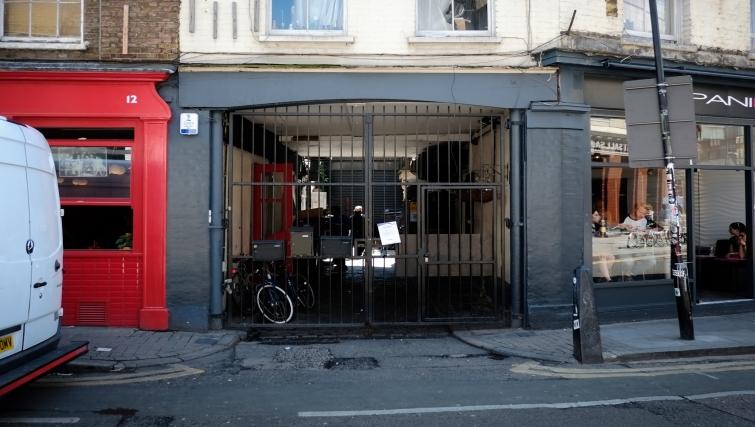Entrance at Hanbury Street Apartments - Citybase Apartments