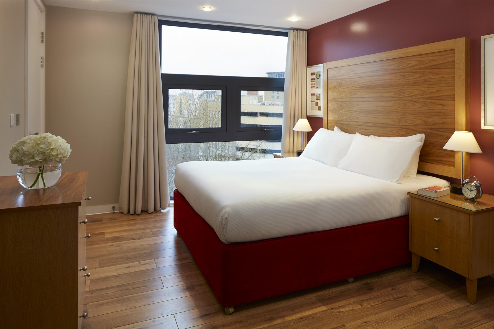Bedroom at Marlin Canary Wharf Apartments, Canary Wharf, London - Citybase Apartments