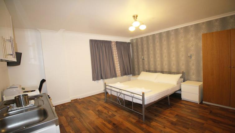 Bedroom at Croydon High Street Apartments - Citybase Apartments