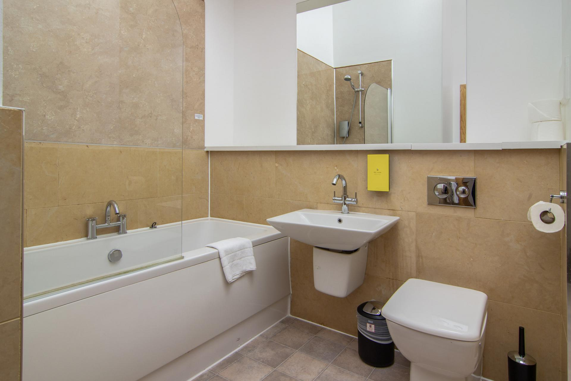 Bath at Staycity Edinburgh Leamington Wharf, Haymarket, Edinburgh - Citybase Apartments