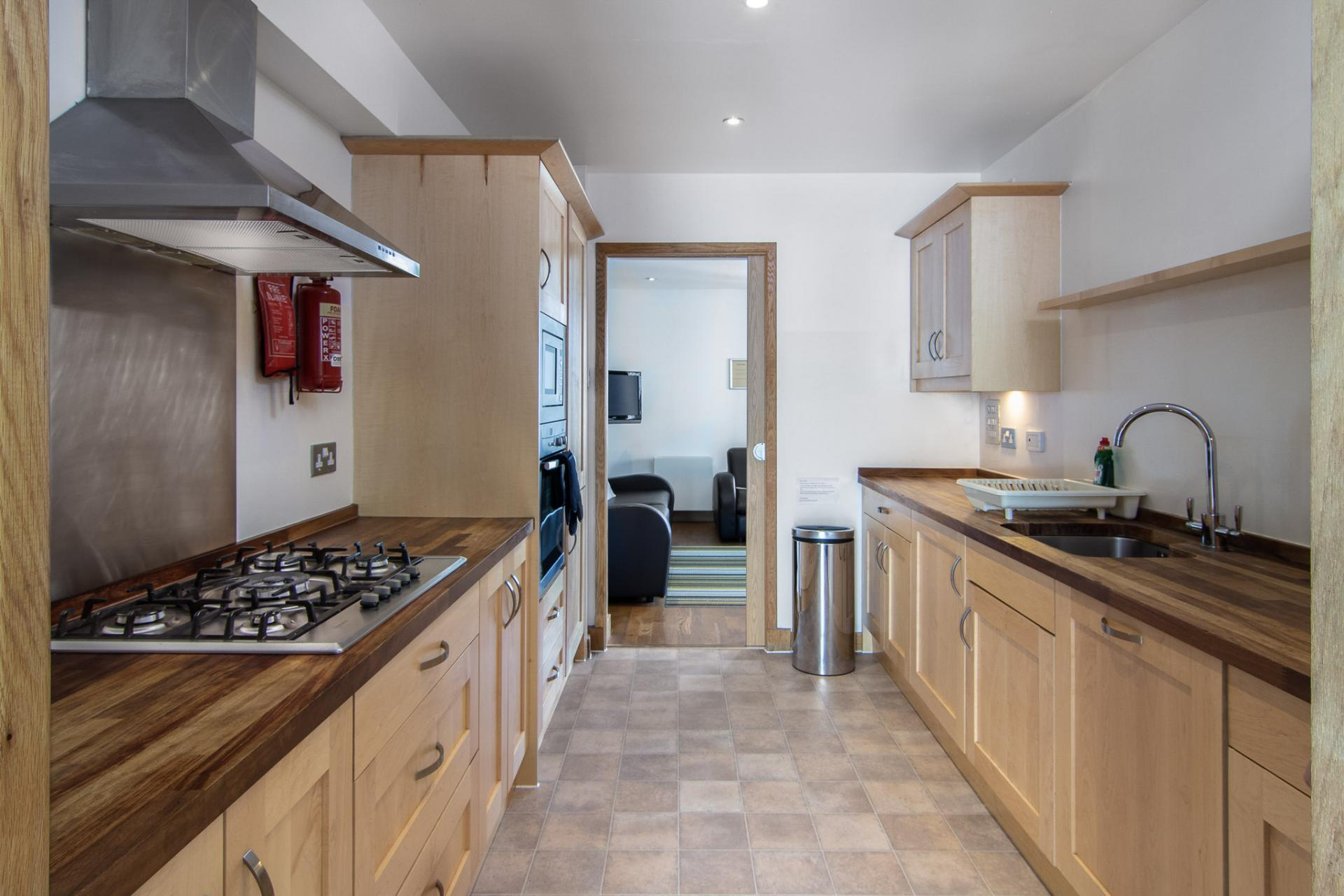 Kitchen at Staycity Edinburgh Leamington Wharf, Haymarket, Edinburgh - Citybase Apartments