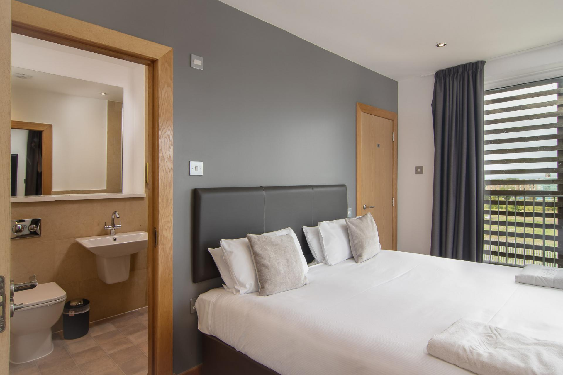 Bed at Staycity Edinburgh Leamington Wharf, Haymarket, Edinburgh - Citybase Apartments