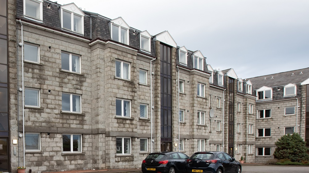 Exterior at The Spires Aberdeen - Citybase Apartments